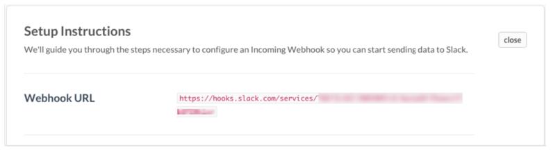 get webhooks url