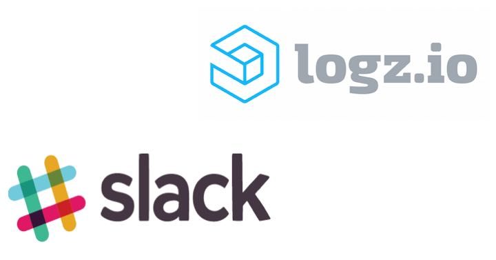 logz.io and slack