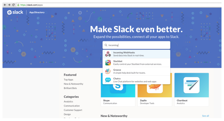 How do I integrate the Logz io ELK Stack's alerts with Slack