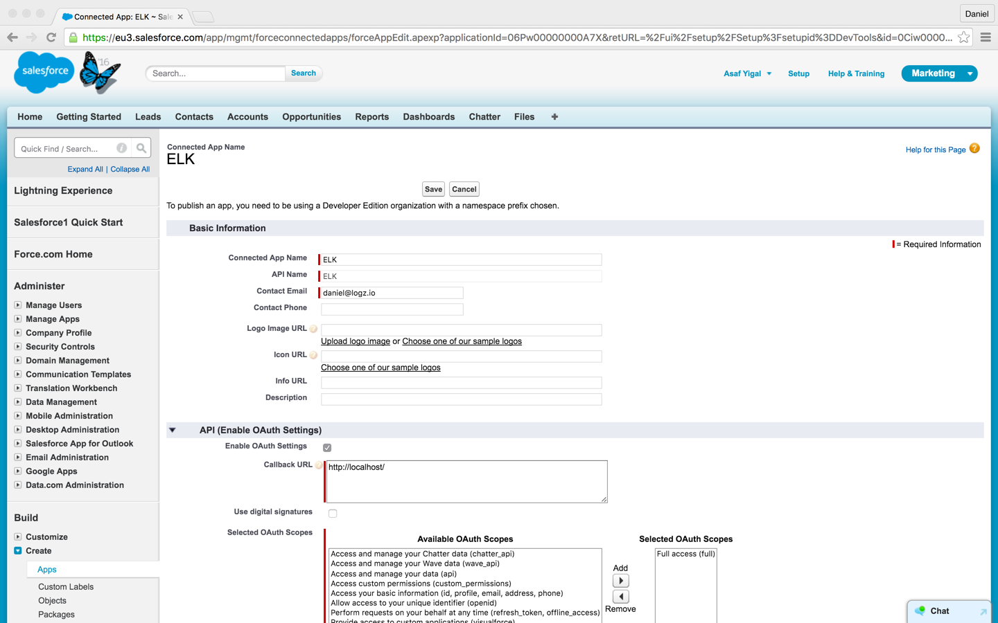 Salesforce: How To Analyze Salesforce Data With The ELK Stack