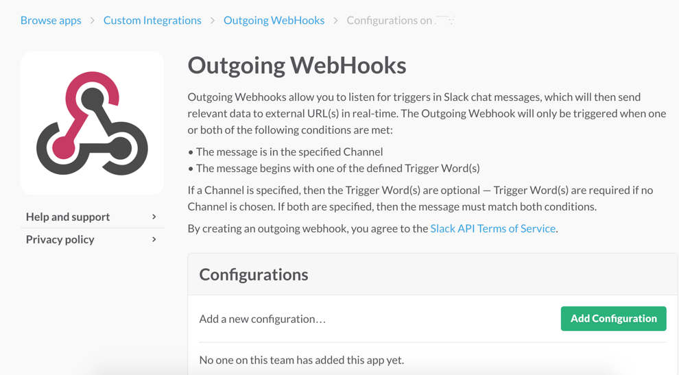 outgoing webhooks 6