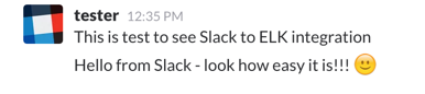 slack test message 3
