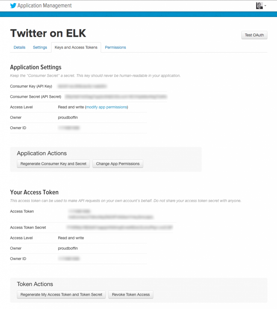 twitter on elk stack