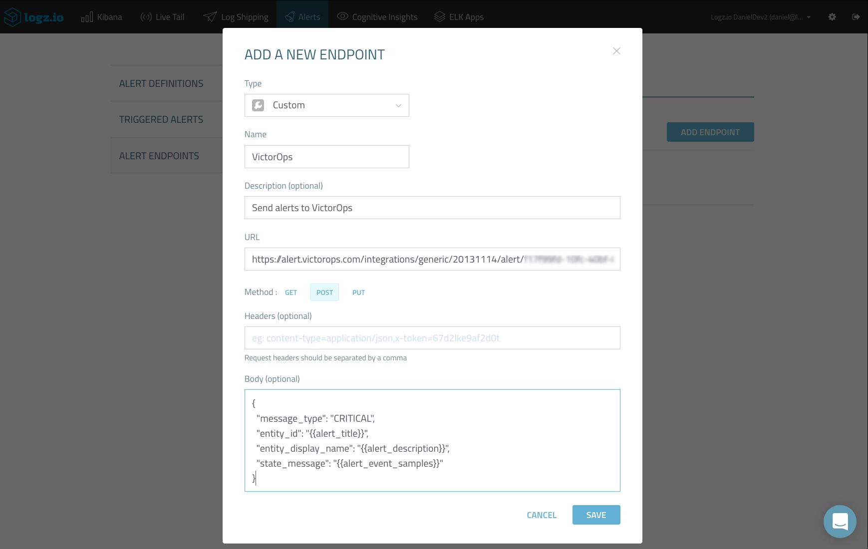 endpoint metadata
