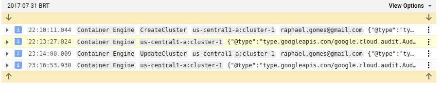 create cluster