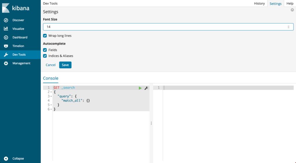Elasticsearch REST API