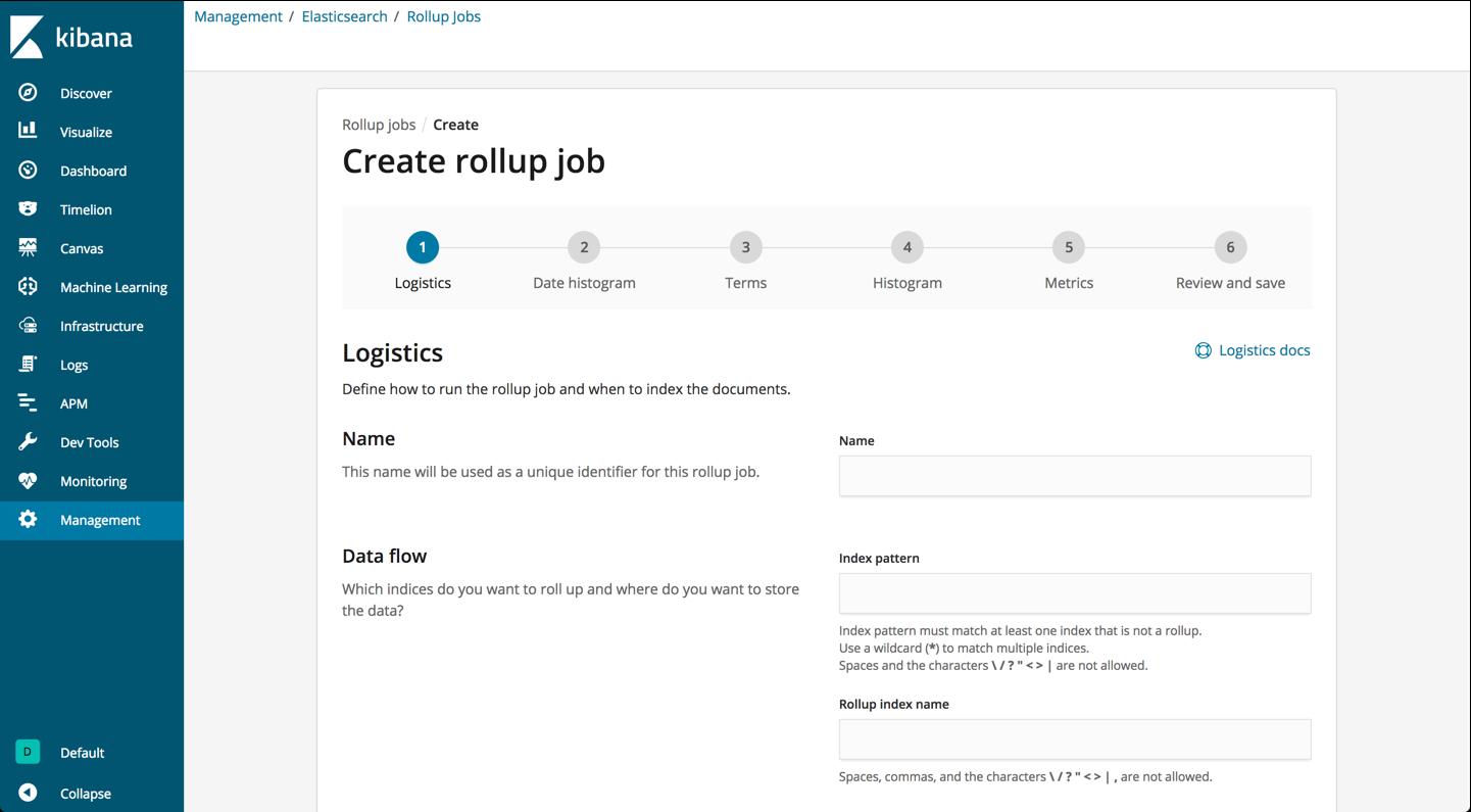 create rollup