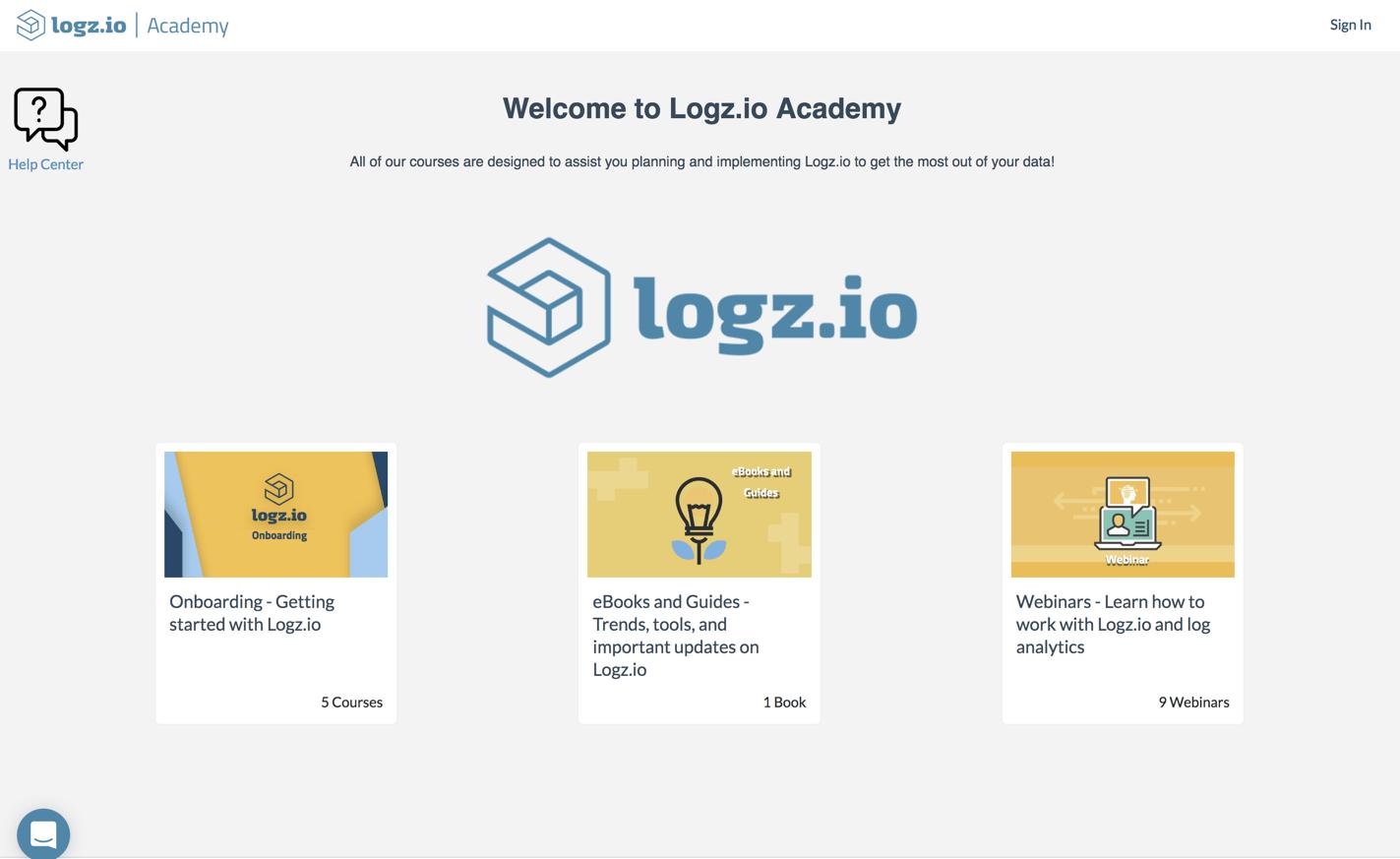 Logz.io Academy