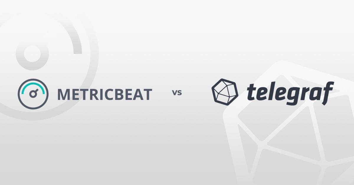metricbeat vs. telegraph